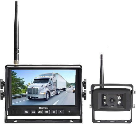 3. HALOVIEW 7Inch Monitor Built-in Wireless RV Rear View Camera w/Infrared Night Vision