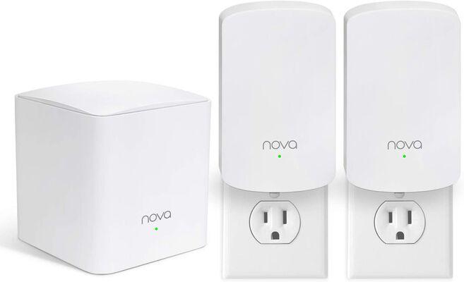 10. TENDA Nova MW5 3-PK 500 Sq. Ft Dual-Band Wi-Fi Extenders Whole Home Mesh Wi-Fi System