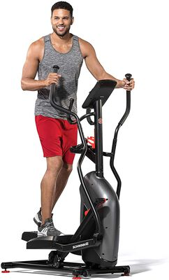 5. Schwinn Fitness Compact Elliptical Cross Trainer Machine with a Streamlined Console