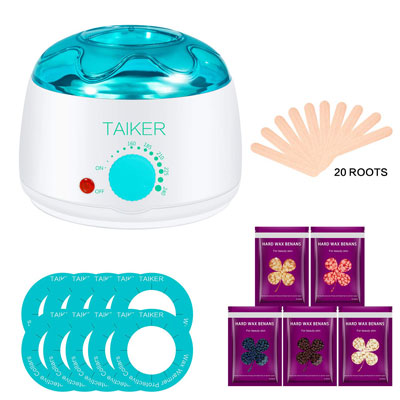 3- Wax Warmer Hair Removal Kit By Taiker