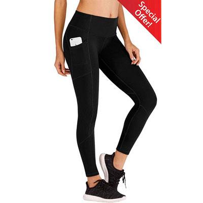 2- Ewedoos Running High Waist Yoga Pants