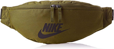 #2. Nike Heritage Zippered Pockets Hip Fanny Pack 5.75'' High 15.5'' Wide for Men & Women