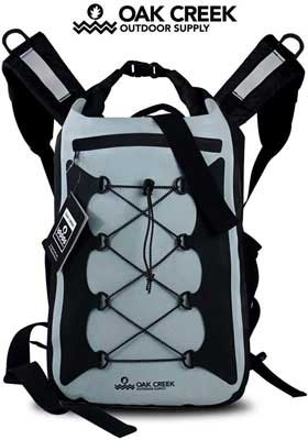 #5. Oak Creek Canyon 30L Premium Waterproof Padded Shoulder Straps Dry Bag Backpack