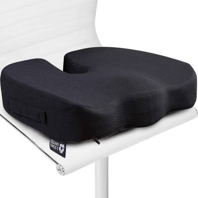 7. 5 STARS UNITED Seat Cushion Pillow - 100% Memory Foam