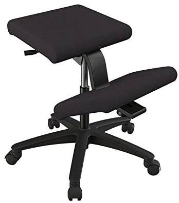 #1. Varier Wing High-Quality Fabric Norwegian Design Ergonomic Kneeling Chair for Home & Office
