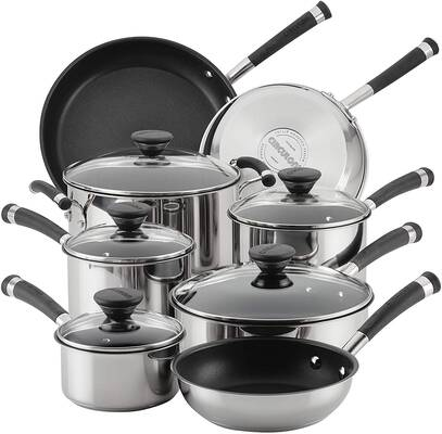 #10. Circulon 70514 Acclaim Stainless Steel Cookware