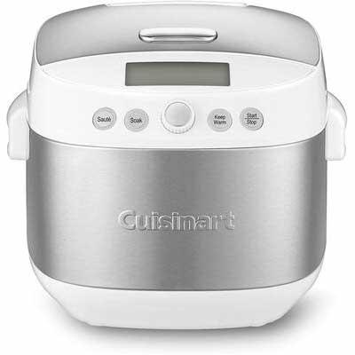 5. Cuisinart FRC-1000 Rice Cooker, White