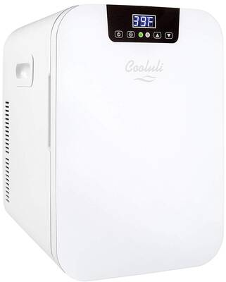 #4. Cooluli Concord 20L Compact Mini Fridge Cooler & Warmer with Digital Thermostat