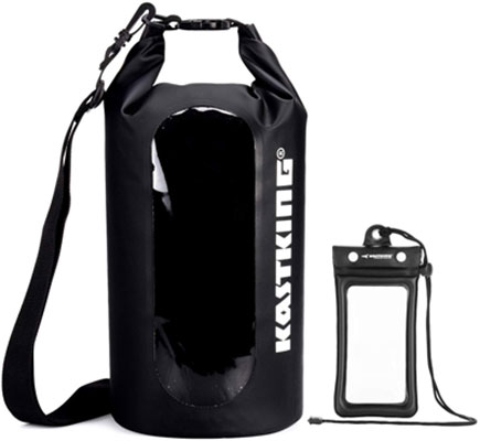 #8. KastKing Military Grade Construction Waterproof Transparent Window Dry Bag