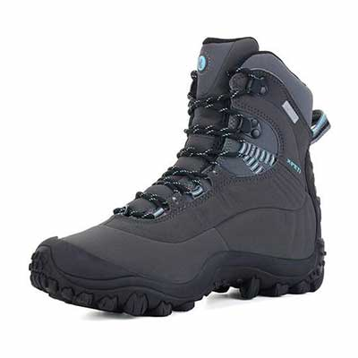 8. XPETI Women's Waterproof Hiking Boots
