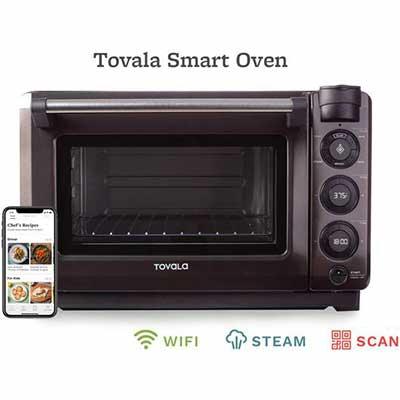 #2. TOVALAoven-ready Steam Oven, Countertop Wi-Fi Oven