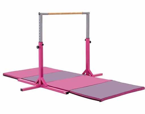 #10. walsport Gymnastics Bar - Adjustable Height