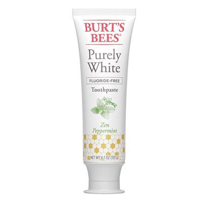 #10. Burt's Bees Natural Flavor Zen Peppermint Toothpaste
