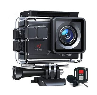 8. Victure Wide Angle Sports WIFI Action Camera with Slow Motion and Time Lapse Mode