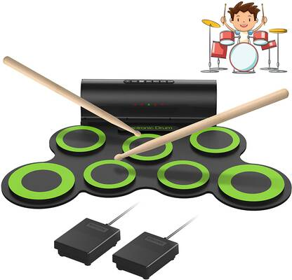 10. ORASANT Electronic Drum Set with Foot Pedals