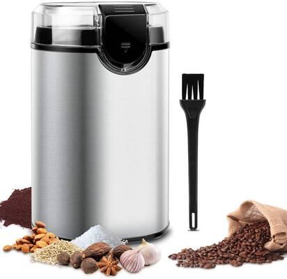 8. Keenstone 150W Noiseless Motor Stainless Steel Spice Mill Grinder Electric Coffee Bean Grinder