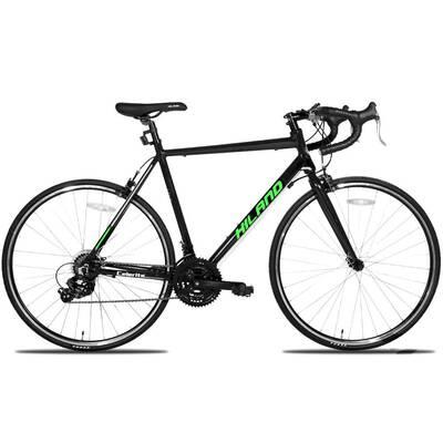 #6. Hiland 700C Aluminum with 21 Speeds Drivetrain City Commuter Bicycle Road Bike (2 Colors)