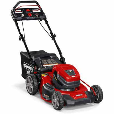 1. Snapper Cordless Electric Lawn Mower