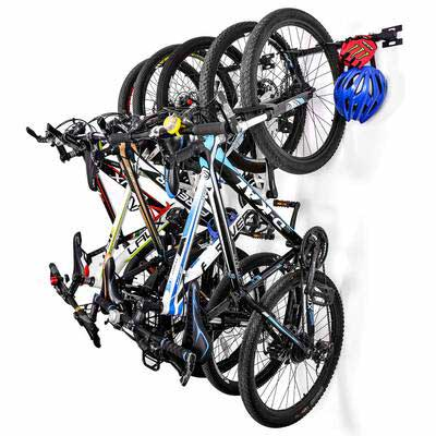 #9. Sunix Bike Storage Hanger Storage Rack, for Garage and Home Wall Bicycles Mount