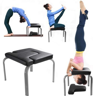 6. WV Wonder View Inverted Reinforced Yoga Headstand Bench for Use at Home or Gym
