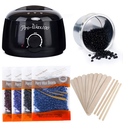 8- Miss Gorgeous Wax Warmer Hair Removal Kit