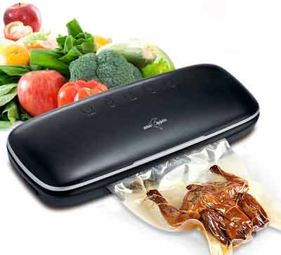 7. White Dolphin Vacuum Sealer Machine for Food Preservation