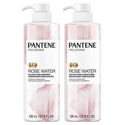 #7. Pantene Paraben- & Dye-Free Twin Pack 17.9 Fl. Oz. Shampoo & Sulfate-Free conditioner kit
