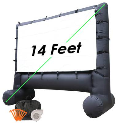 #6. Houseables Inflatable Outdoor 14 feet Projector Screen