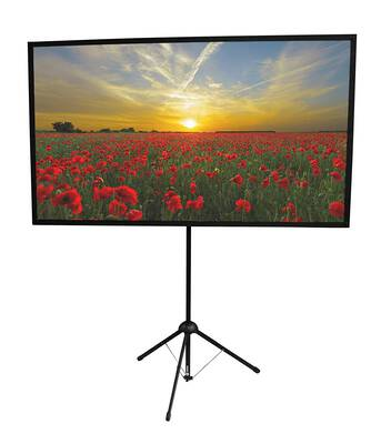 #2. On the Go Screens Two minute setup 70 Portable Projector Screen