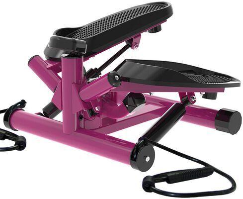 8. Leikefitness Purple Premium Portable Twisting Step Fitness Mini Stepper Machine