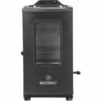 3. Masterbuilt 30Inch MB20073519 Bluetooth Digital Electric Smoker w/Broiler (Black)
