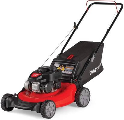 5. CRAFTSMAN M105 Gas Powered Push Lawn Mower