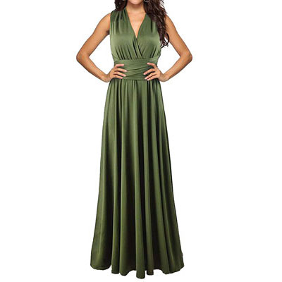 #1. Sexyshine Women's Backless Gown Long Bridesmaid Dress