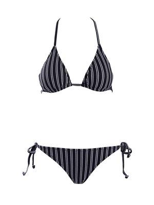 #4. SeaBeauty Top Triangle Tie Side Padded Bottom Women's Sexy Bathing Suit