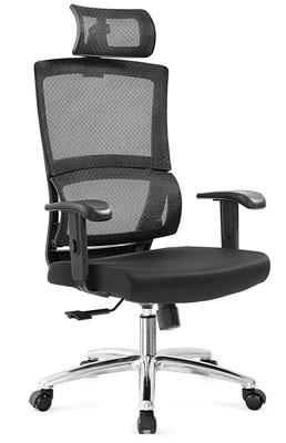 #7. Ticova Unique Elastic Ring Thick Seat Cushion Computer Office Chair