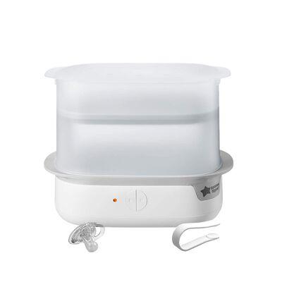 9. Tommee Tippee White Steri-Steam Ultra UV 3-in-1 BPA-Free Electric UV Light Sanitizer