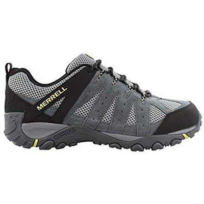 #2. Merrell Suede Synthetic Sole Men's Accentor 2 Ventilation Hiking Shoes