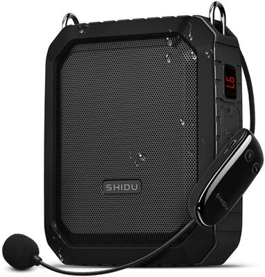 5. ResponseBridge 18W 4400mAh Portable Waterproof Wireless Voice Amplifier w/UHF Microphone
