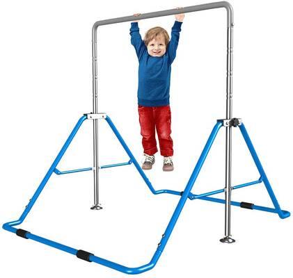 #3. Yi Xuan Kids' Gymnastics bar - Height Adjustable
