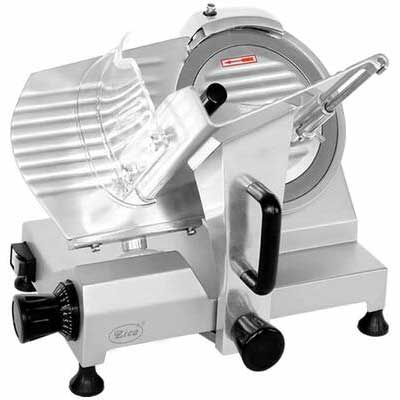 3. ZICA Chrome-plated ZBS-10A 10 Inch Steel Blade Deli Electric Meat Cheese Ham Meat Slicer