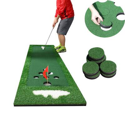 #9. SPRAWL Portable Golf Green Putting Practice Mat