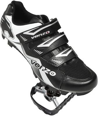 #5. Venzo Mountain Bike Bicycle Cycling Shoe