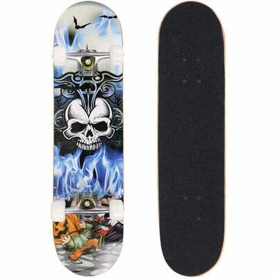 5. Binxin 9 Layer Maple Wood Pro Skateboard Deck w/Double Kick Concave for Kids & Boys