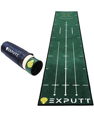#7. EXPUTT Indoor Putting Green Golf Practice Mat