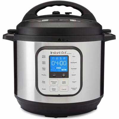 6. Instant Pot Electric Pressure Cooker, 8 Quart