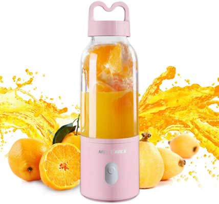 5. Granbest Personal Blender for Smoothies & Shakes (Pink)