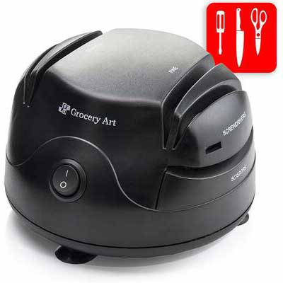 5. Grocery Art Electric Knife Sharpener