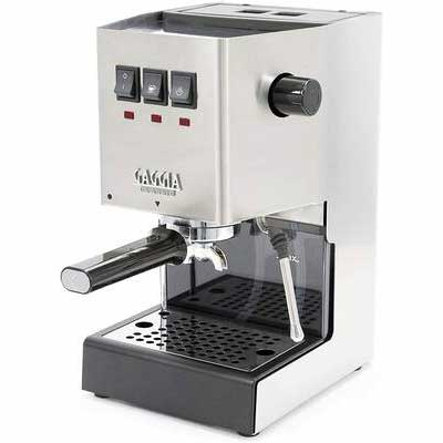7. GAGGIA Brushed Stainless Steel Commercial-Style RI9380/46 Solid Classic Pro Espresso Machine