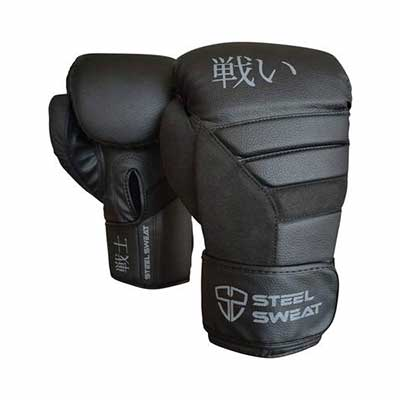 #1. Steel Sweat Senshi Boxing Gloves