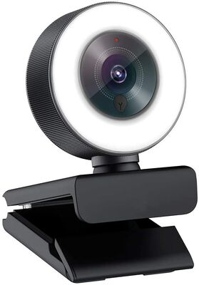 4. Angetube 1080p High-Performance Webcam for Streaming with a Mic and Adjustable Ring